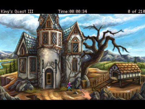 King's Quest 3 © AGDInteractive