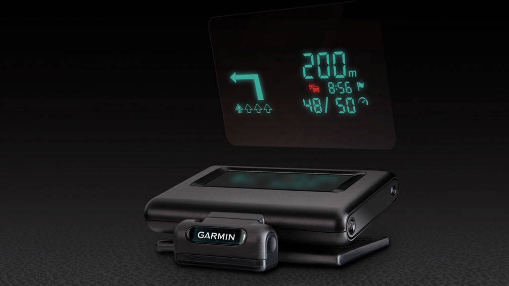 im test garmin head up display als auto zubeh r f rs. Black Bedroom Furniture Sets. Home Design Ideas