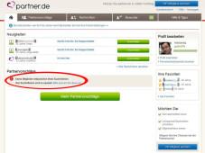 Partnervermittlung online test