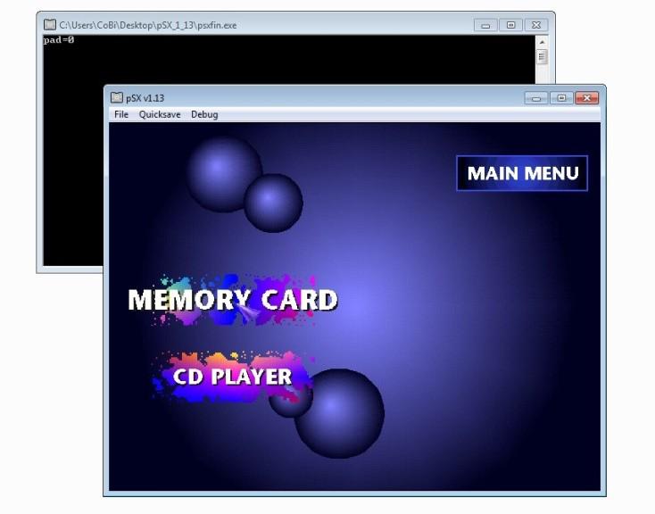 Screenshot 1 - pSX