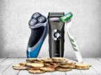 Rasierer im Kosten-Check©fotolia © Fantasista, fotolia © IMaster, Braun, Philips, Gillette