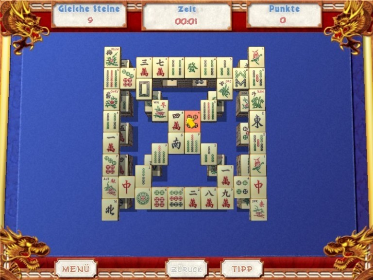 Screenshot 1 - Great Mahjong – Kostenlose Spezial-Version