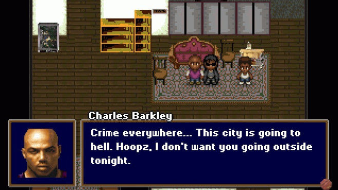 Barkley, Shut up and Jam – Gaiden: Wohnzimmer © Tales of Games