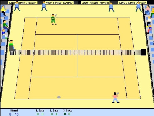 Mini-Tennis-Turnier © Dannys Freeware