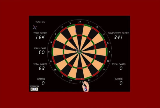 Olltwit's Darts Game © Grey Olltwit