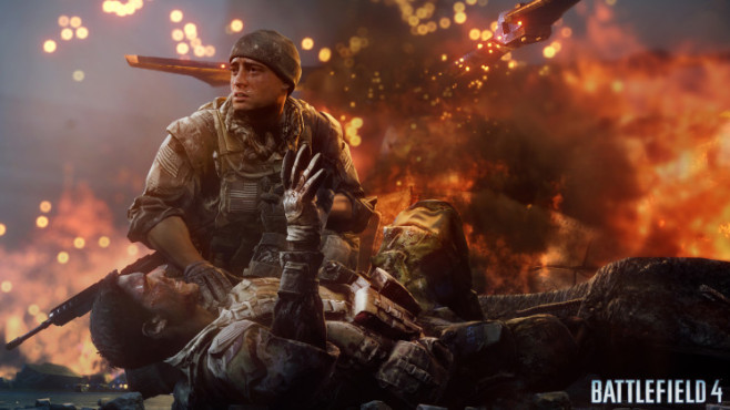 Battlefield 4: Explosion © Electronic Arts