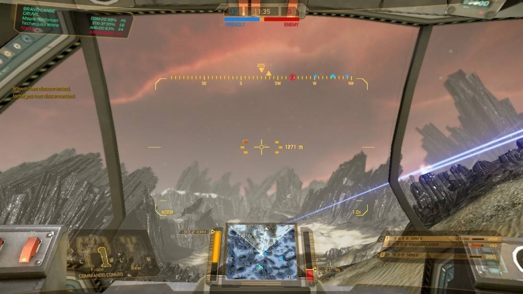 Screenshot 1 - MechWarrior Online