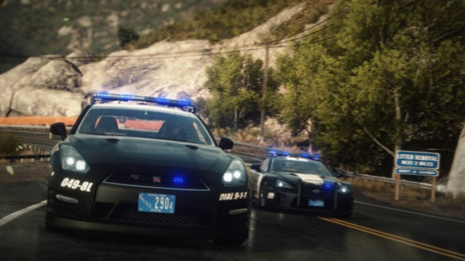 Rennspiel Need for Speed – Rivals: Polizei © Electronic Arts