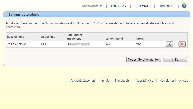 Fritzbox Telefonie Funktionen Und Extras Bilder Screenshots