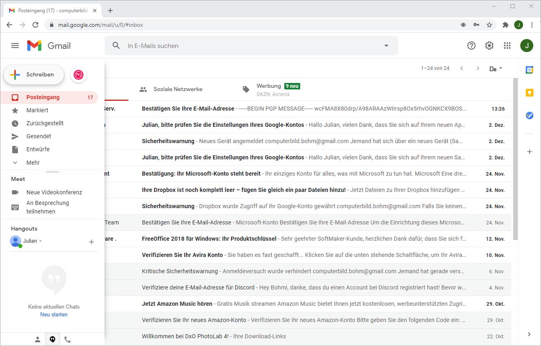Screenshot 1 - Mailvelope für Chrome