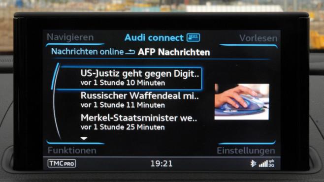Audi Nachrichten ©COMPUTER BILD / Audi