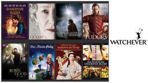 Watchever: Royale Unterhaltung mit den 20 besten Watchever: Feiern Sie den neuen königlichen Erdenbürger mit den 20 besten royalen Spielfilmen und Serien.©Watchever