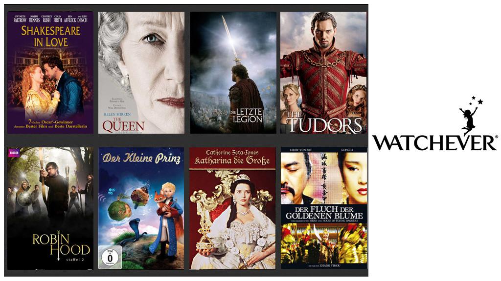 Watchever: 20 royale Filme und Serien zur Geburt des Prinzen ...