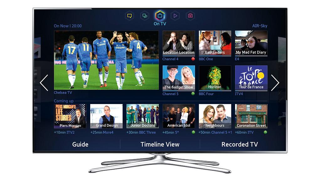 Bildschirmmenü Samsung UE40F6470©Samsung