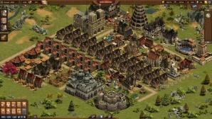 Forge of Empires: Stadt nach sechsmonatiger Spielzeit©InnoGames