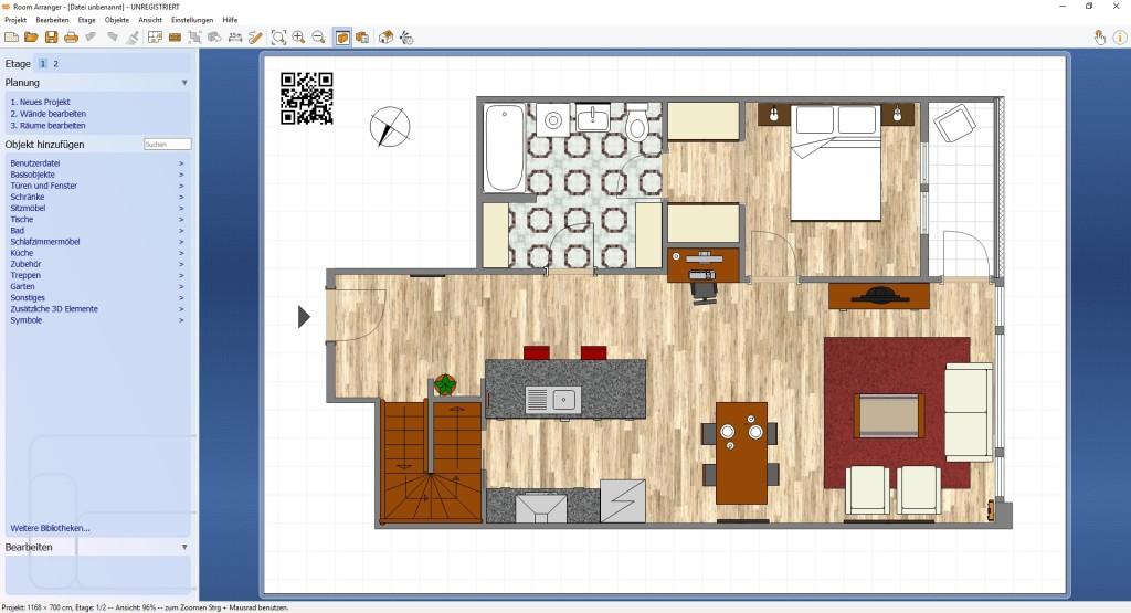 Screenshot 1 - Room Arranger
