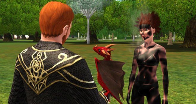 Lebenssimulation Die Sims 3 – Dragon Valley (Add-on) ©Electronic Arts