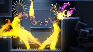 Geschicklichkeitsspiel Rayman Legends: Feuer©Ubisoft