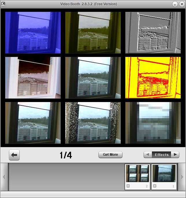 Screenshot 1 - Video Booth