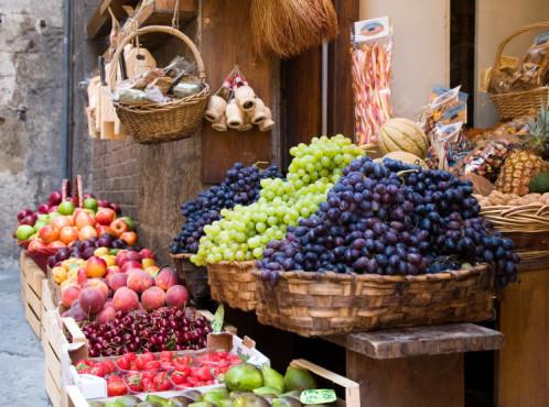 Körbe mit Obst und Gemüse ©arthurdent - Fotolia.com
