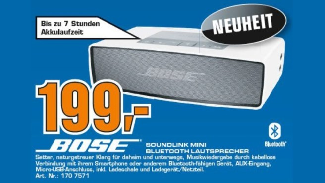Bose SoundLink Mini Bluetooth Speaker © Saturn