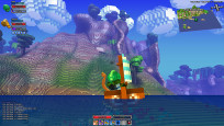 Rollenspiel Cube World: Boot © Picroma