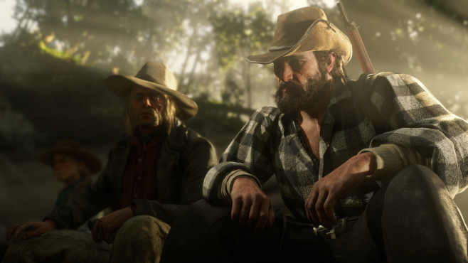 Red Dead Redemption 2 erstmals angespielt: Die Vorschau! Die unterschiedlichen Charaktere wirken natürlich und sorgen für ein lebendiges Spielerlebnis.©Rockstar