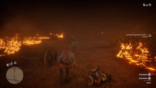 Red Dead Redemption 2 im Test: Aufsatteln und eintauchen Feuer! Natürlich kommt auch die Action alles andere als zu kurz.©Rockstar Games