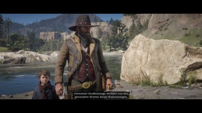 Red Dead Redemption 2 im Test: Aufsatteln und eintauchen Filmreif: Die Cut-Scenes sind wieder einmal hervorragend inszeniert.©Rockstar Games