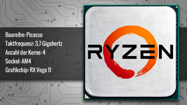 AMD Ryzen 5 3400G (Picasso) ©AMD, COMPUTER BILD