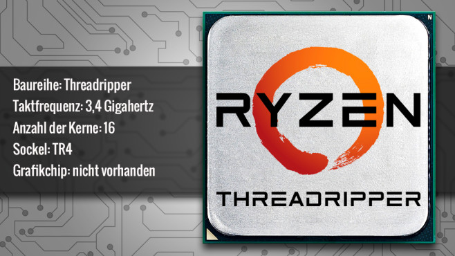 AMD Ryzen Threadripper 1950X © ecrow - Fotolia.com, AMD