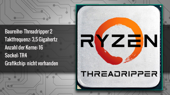 AMD Ryzen Threadripper 2950X (Summit Ridge) © ecrow - Fotolia.com, AMD