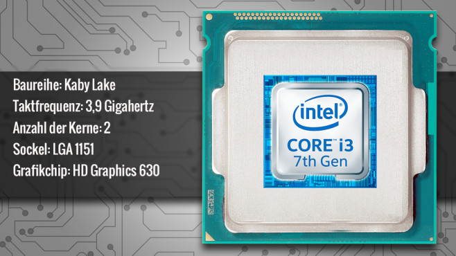 Intel Core i3-7100 © ecrow - Fotolia.com, Intel