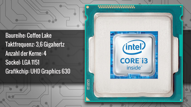 Intel Core i3-8100 © ecrow - Fotolia.com, Intel