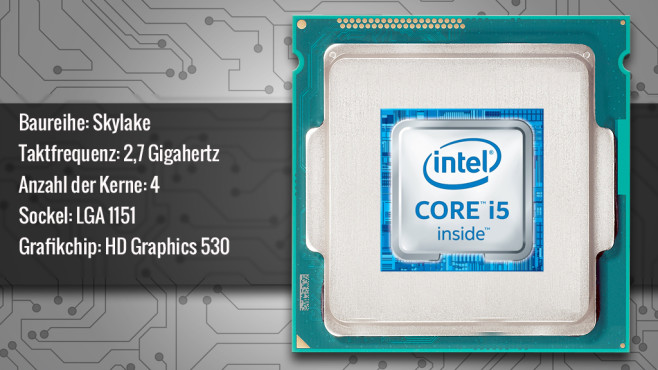 Intel Core i5-6400 (Skylake) © ecrow - Fotolia.com, Intel