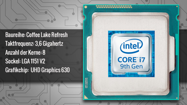 Intel Core i7-9700K © ecrow - Fotolia.com, Intel