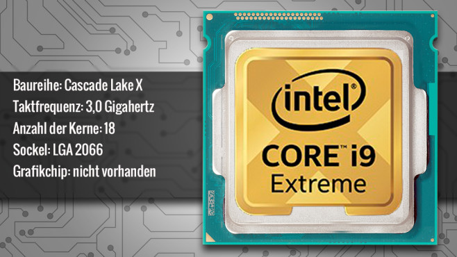 Intel Core i9-10980XE © ecrow - Fotolia.com, Intel