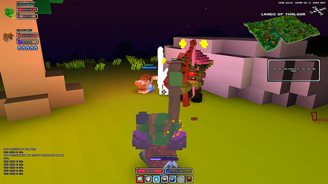 Rollenspiel Cube World: Ablenkung ©Picroma