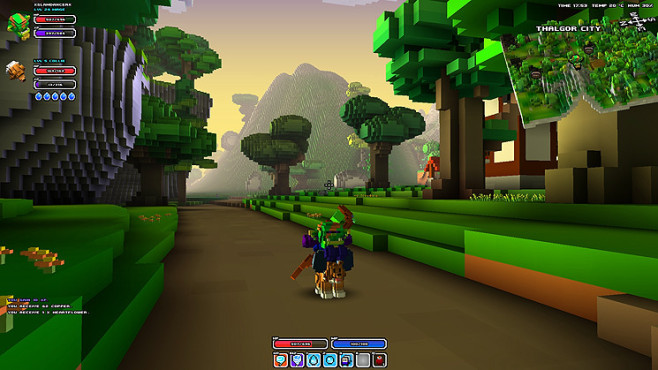 Rollenspiel Cube World: Collie ©Picroma