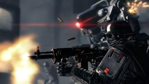 Actionspiel Wolfenstein – The New Order: Roboter©Bethesda