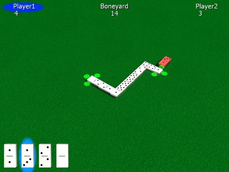 Screenshot 1 - 3DRT Dominos