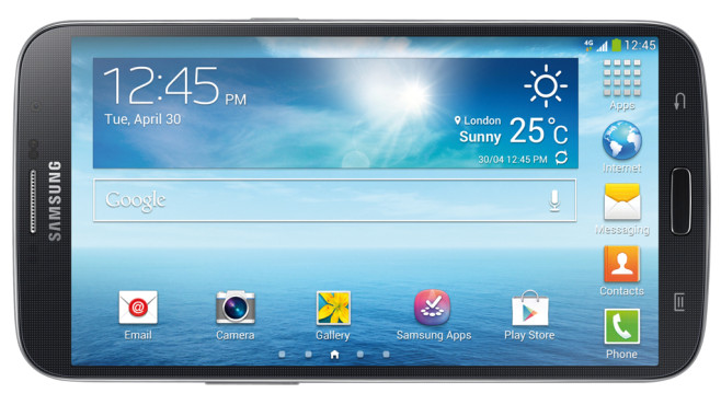 Samsung Galaxy Mega 6.3©COMPUTER BILD