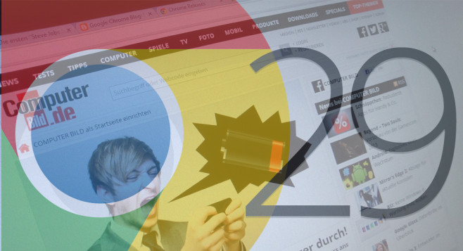 Google Chrome 29©COMPUTER BILD