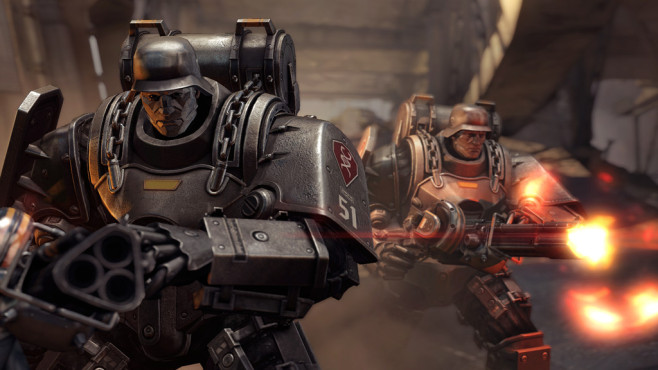 Actionspiel Wolfenstein – The New Order: Roboter © Bethesda