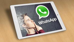 WhatsApp auf dem iPad©Lassedesignen � Fotolia.com, Whatsapp