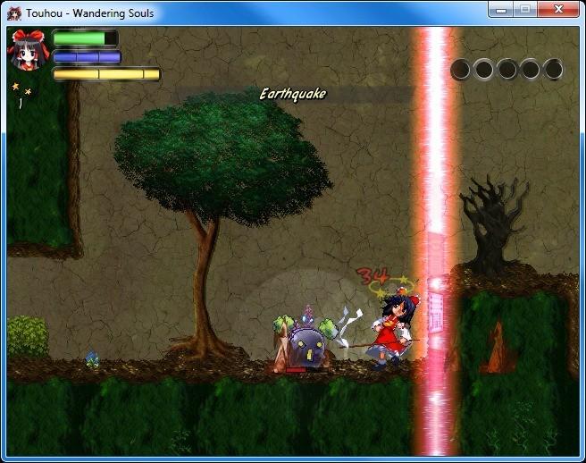 Screenshot 1 - Touhou: Wandering Souls