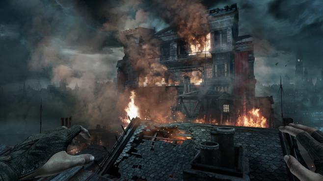 Actionspiel Thief: Die Stadt muss brennen©Square Enix
