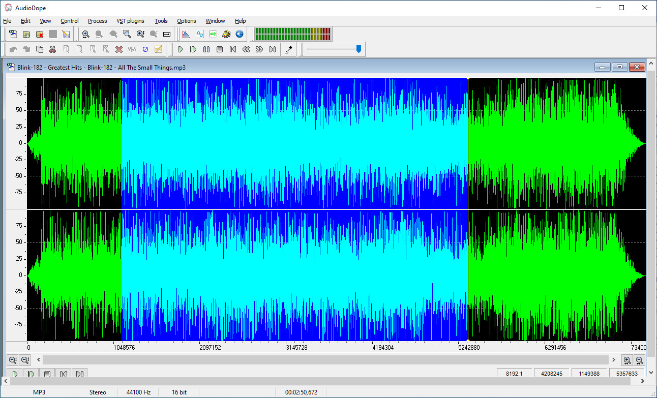 Screenshot 1 - AudioDope
