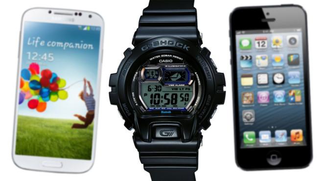 Casio G-Shock GB-X6900©Apple, Casio, Samsung