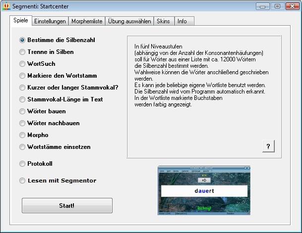 Screenshot 1 - Segmenti